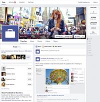 Das neue Design für Facebook-Pages