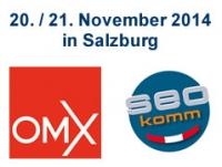 OMX und SEOkomm Salzburg 2014